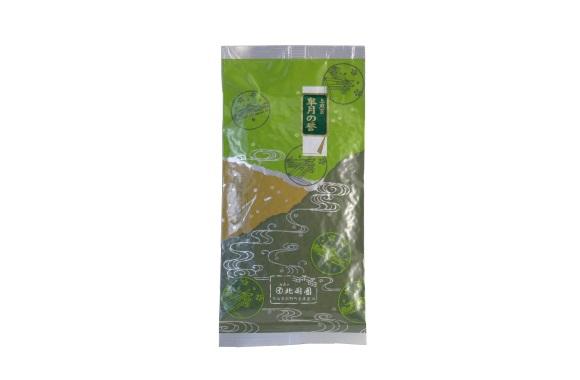 北岡園の看板茶
